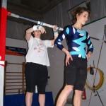 Allenamenti: Sara Cellai e Laura Bernabei
