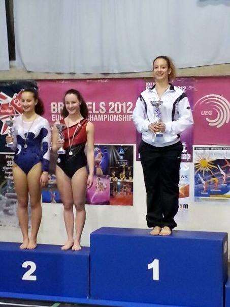 Valentina Baldi vince la gara del 3° Liv. 3ª Fascia.