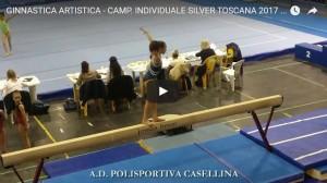 GINNASTE CASELLINA NEL CAMPIONATO INDIVIDUALE SILVER TOSCANA 2017