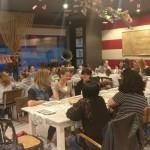 Venerdì 5/5/17: La cena con i sostenitori