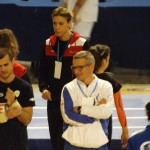 Pre-gara. Giulia Bartarelli: tecnico della Polisportiva Casellina