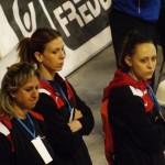 Giulia Bartarelli, Debora Ermini e Monica Gozzoli (tecnico di Irene Canargiu)