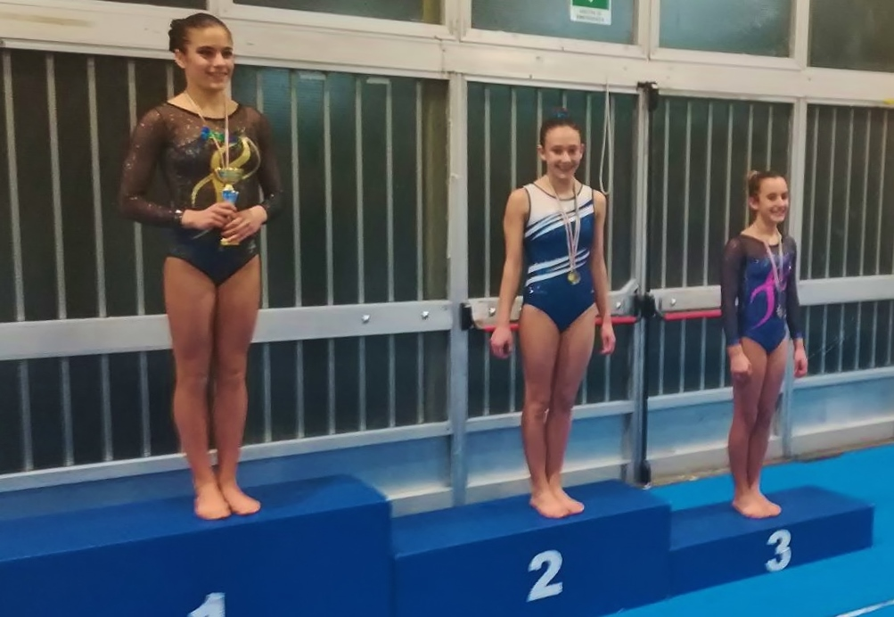 Alessia Chiti, seconda classificata nella categoria LD Junior1