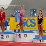 2° Grado Junior: Matilde Chiti 1ª, Valentina Baldi 3ª
