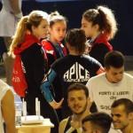 Pre-gara: Arianna Fantini, Alice Fantini, Sara Chiarello, Eléna Corigliano