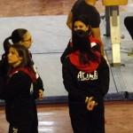 I tecnici di alcune ginnaste della squadra: Deborah Di Mambro, Sara Sciocchetti, Sara Strologo,  Claudia Rosini