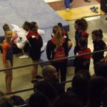 Pre-gara: le ragazze del Team in campo