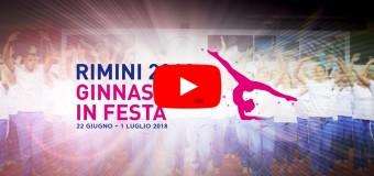 PLAYLIST GINNASTICA IN FESTA RIMINI 2018